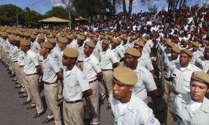 Governador Jaques Wagner participa da Solenidade de Conclusão do Curso de Formação de novos Soldados da Polícia Militar no Parque de Exposiçõesem Salvador  Foto: Manu Dias/SECOM