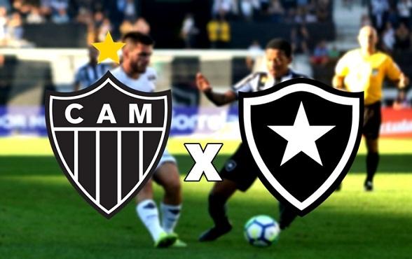 Resultado de imagem para Atlético-MG x Botafogo
