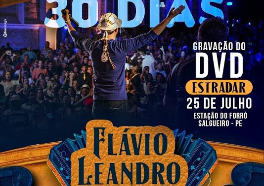 Resultado de imagem para Flávio Leandro grava seu novo DVD
